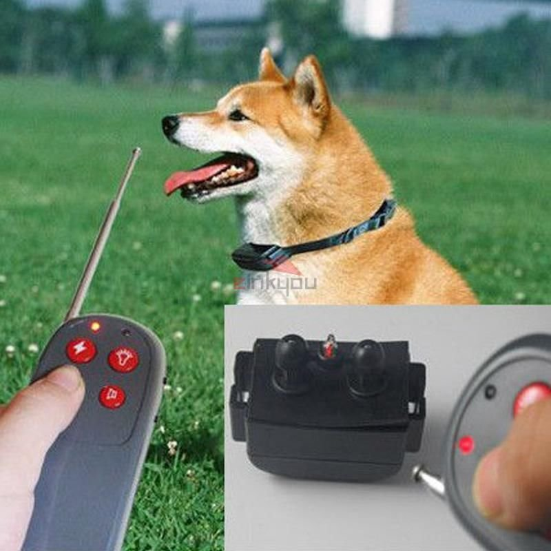Pet Remote Control Electronic Dog Training Static Impulse Shock Vibrate Collar