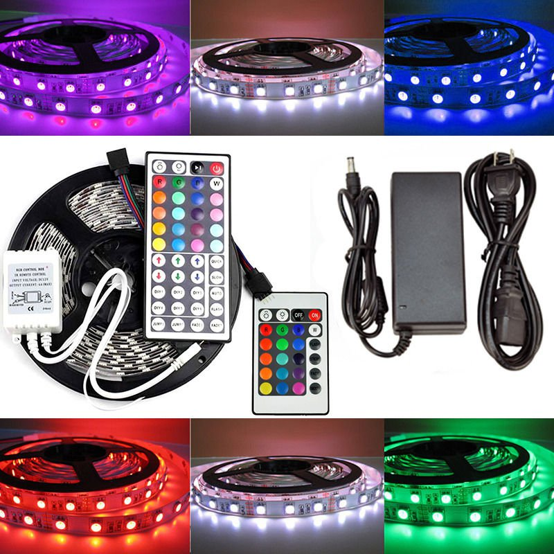 5M 5050 RGB 300LED SMD Non-waterproof LED Tape Roll strip for Party Lamp Light
