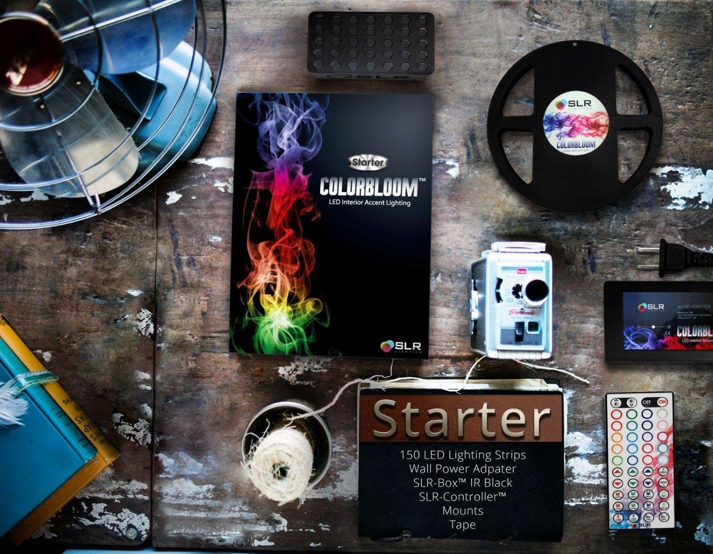Waterproof LED Strip Light Kit - SLR ColorBloom Multi-Color 5m 5050 12v Rgb