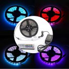 RGB 5M Waterproof 5050 LED SMD Strip Light 12V Power Supply 44key Remote