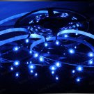 Blue 5m 3528 5050 SMD LED 150 LEDS Waterproof Flexible Light Strip Roll12V