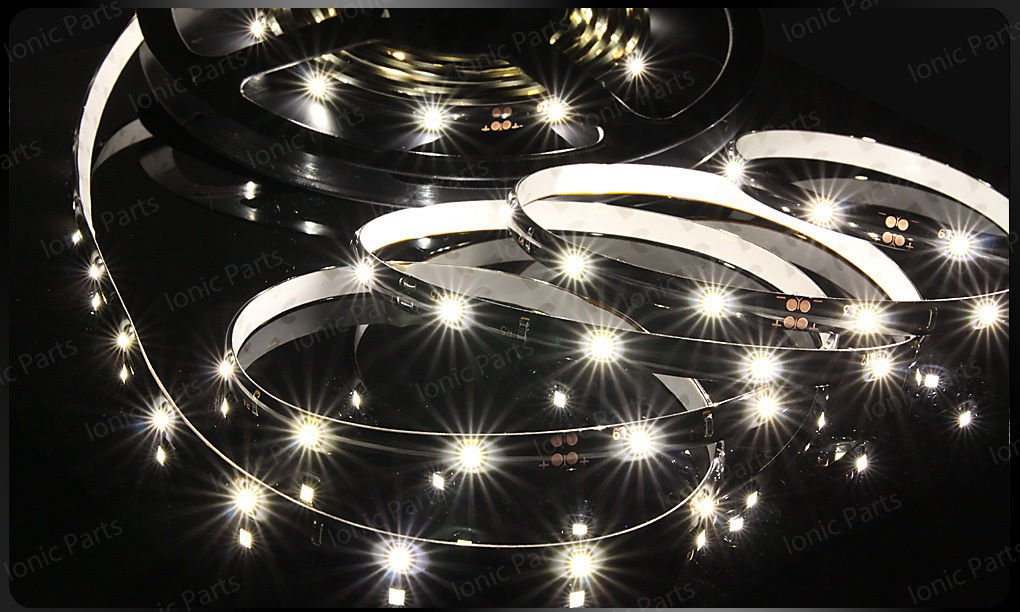 Warm White 5m 3528 5050 SMD LED 300 LEDS Waterproof Flexible Light Strip Roll12V