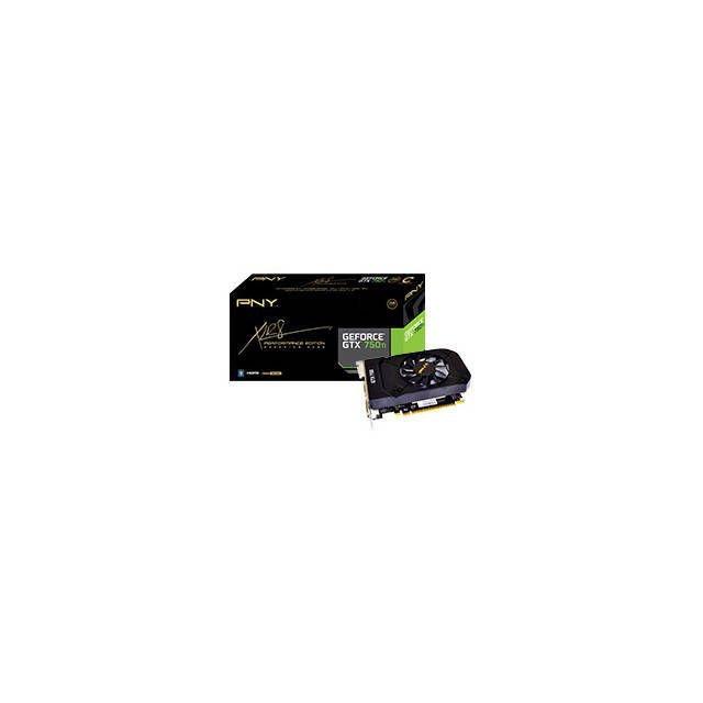 New OEM PNY NVIDIA GeForce GTX 750 Ti 2GB GDDR5 HDMI Video Card VCGGTX750T2XPB