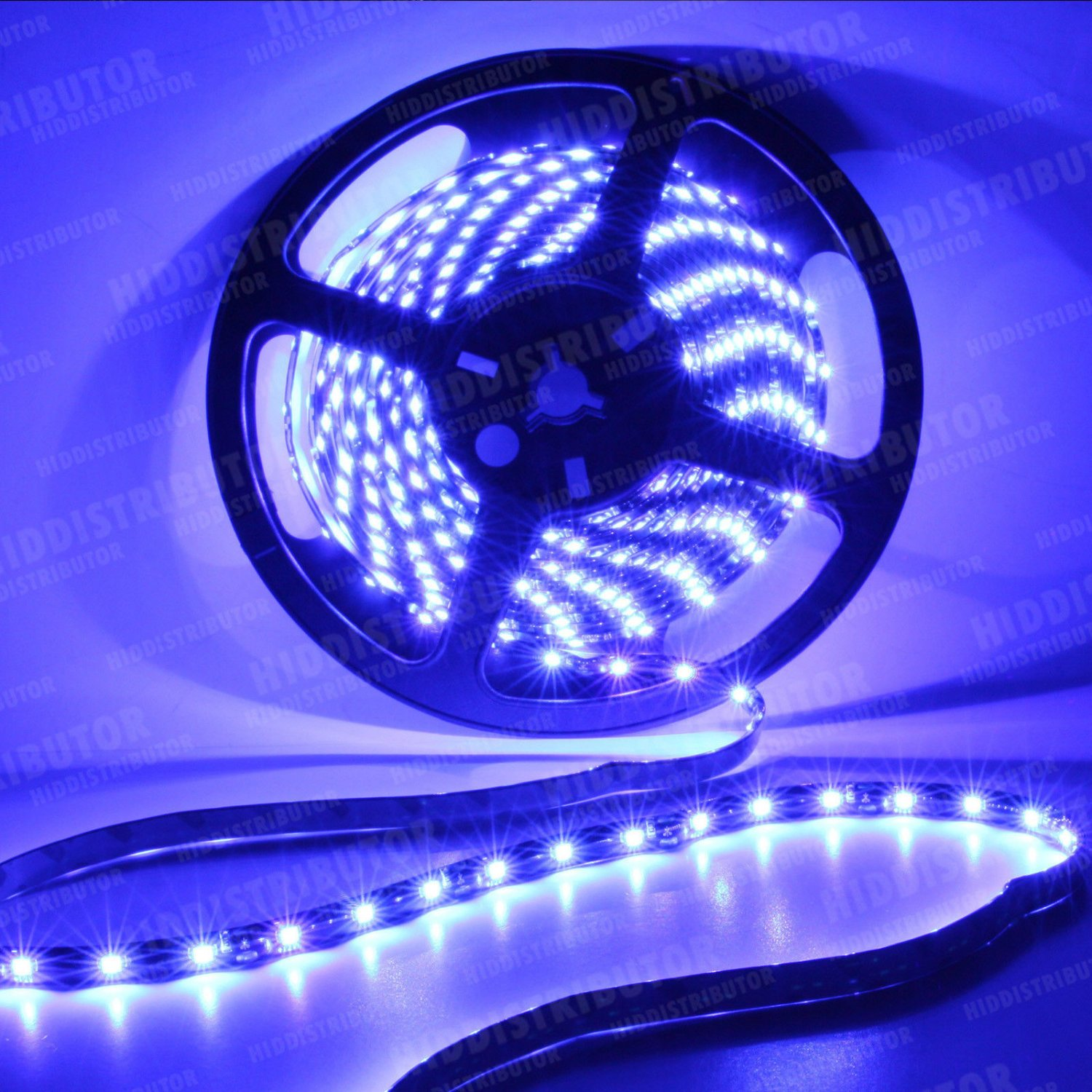 Blue 5m 16ft Roll 3528 SMD LED 300 LEDs Flexible Waterproof Light Strip12V