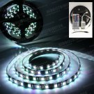 5m RGB 5050 SMD LED 300 LEDS Flexible Waterproof Light Strip Remote 44 Key