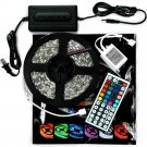 5M SMD RGB 5050 300 LED Waterproof Strip light 44 Key IR Remote 12V power