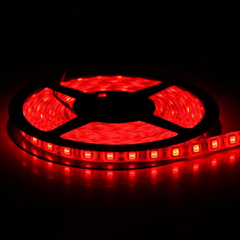 Red 5M 12V IP65 Waterproof 150 LED Strip Light 5050 SMD String Ribbon Tape Roll
