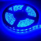 Blue Waterproof 5050 SMD 300LED 5M 60LED-M Light Strip Lamp Car Flexible 12V