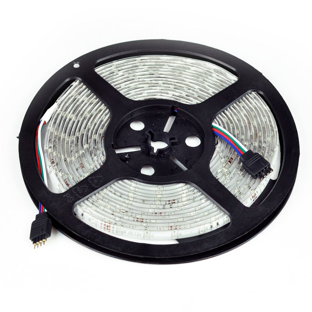 New 5M SMD RGB 3528 Waterproof Strip light 300 LED