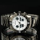 New Infantry Mens Quartz Chronograph Digital LED Army Sport Steel Wrist Watch