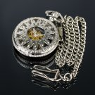 Pacifistor Vintage Antique Style Windup Mechanical Mens Pocket Watch Pendant