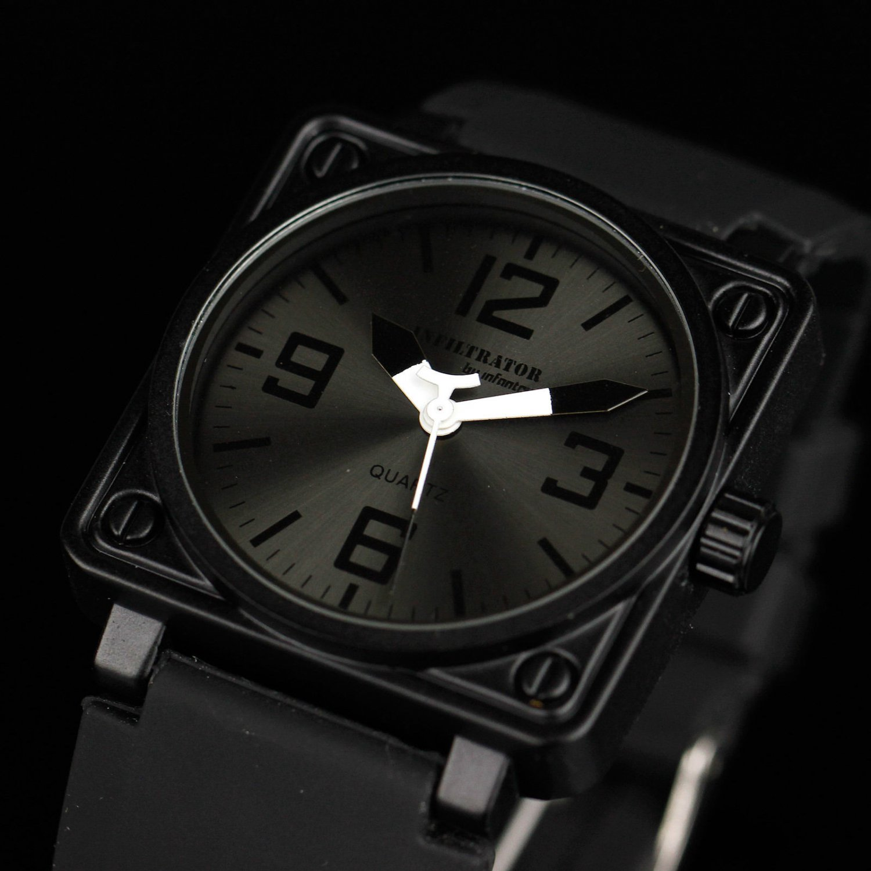 Infantry Aviator Mens Royale Military Army Sport Quartz Wrist Watch Black Gift