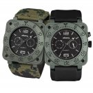 Infantry Cops Luxury Quartz Glow in Dark Mens Wrist Watch Set Flagship Series