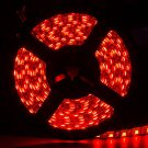 Red Waterproof 5050 SMD 300Leds 5M Flexible LED Strip Light DC12V Black PCB