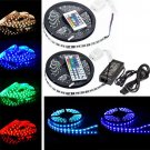 5050 300 LED RGB SMD Waterproof PCB BLACK LED Light Strip