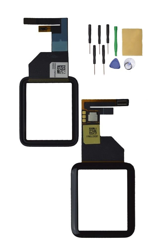 Apple Watch38mm Front Glass Touch Screen Digitizer Replacement Tool Black