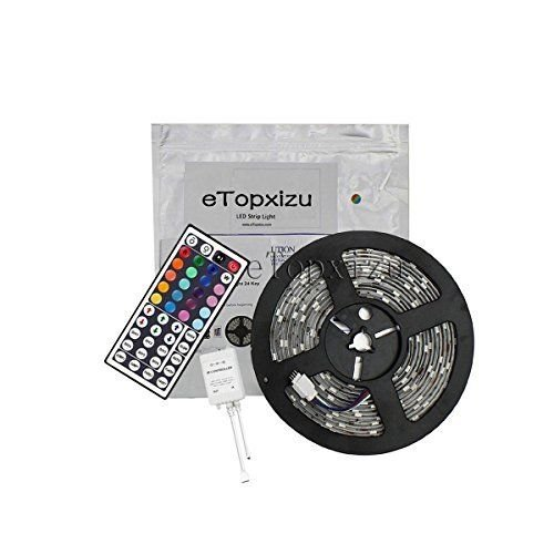 16.4ft SMD 5050 Waterproof 300leds RGB Flexible LED Strip Light Lamp Kit