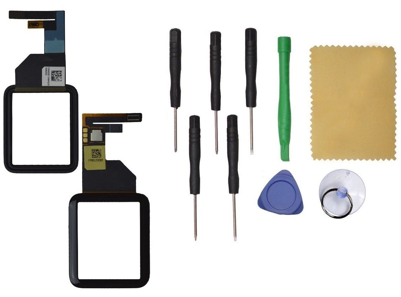 Apple Watch 42mm Front Glass Touch Screen Digitizer Replacement Black Tool