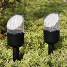 New 40 Pack Black Outdoor Bright White LED Solar Landscape Lights Yard Path Lamp