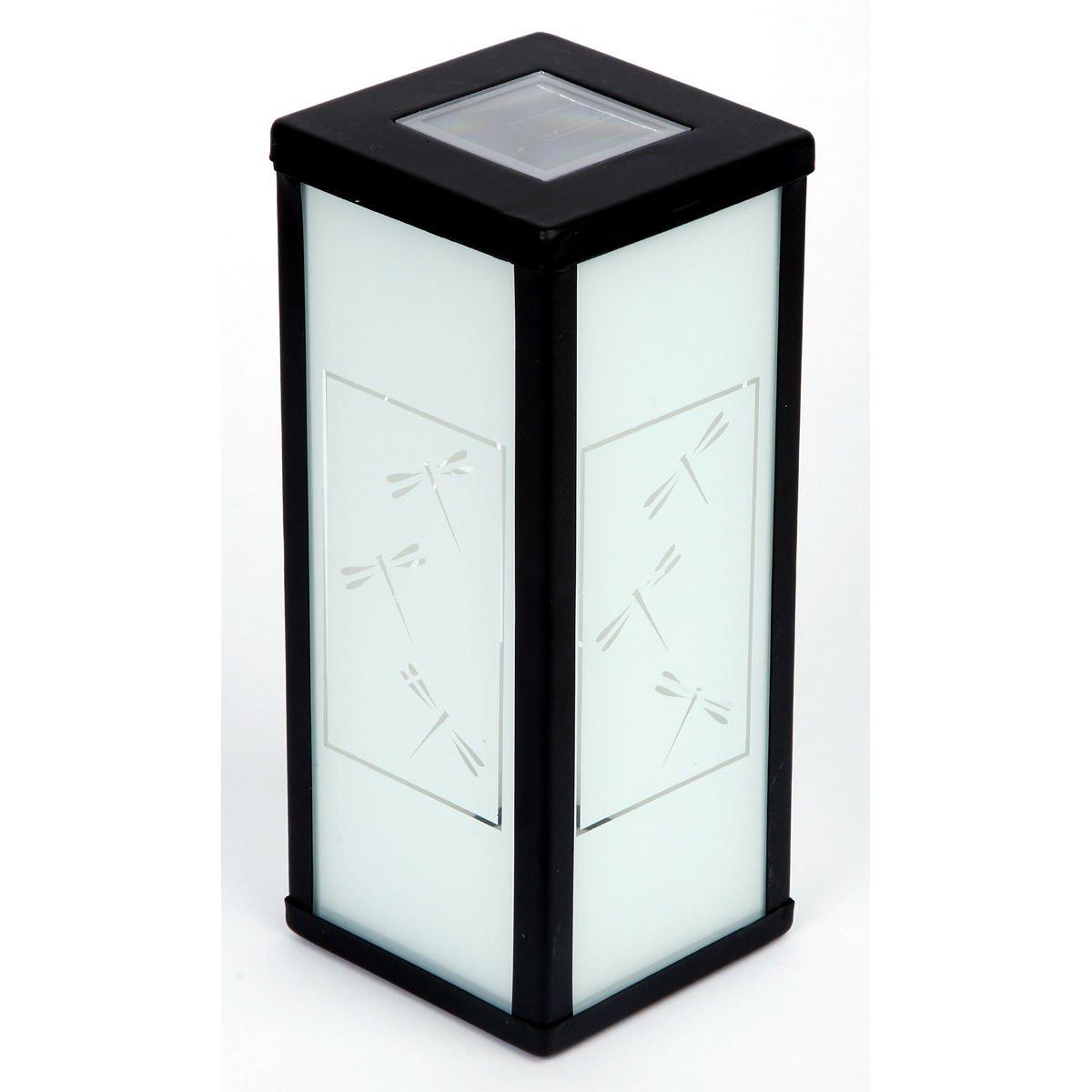 New 4 x Outdoor Garden Dragonflies Lantern Solar Decor Light