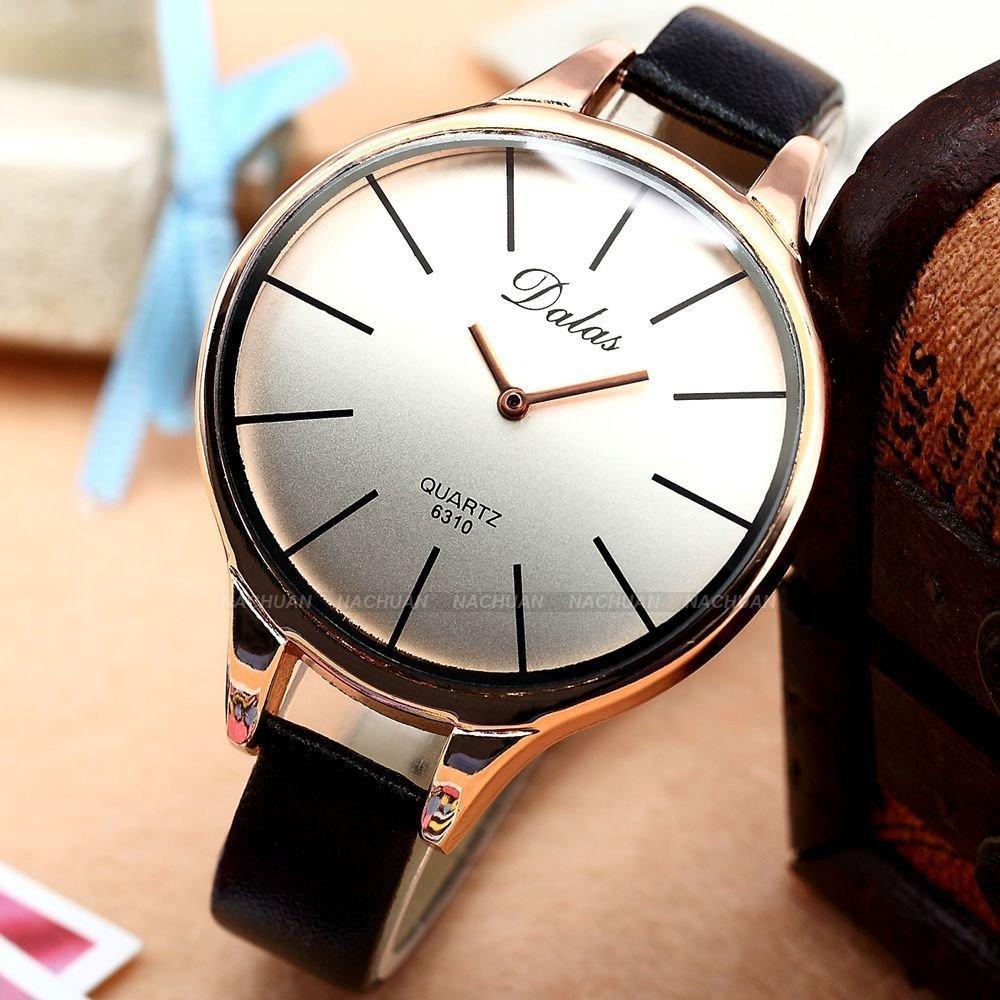 New Dalas Arch Rose Gold Case Lady Women Girl Fashion Bracelet Quartz Watch