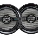 New Sony XSMP1611B 6.5-Inch Dual Cone Marine Boat Outdoor Stereo Speakers Black