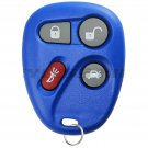 New Blue Replacement Keyless Entry Remote Key Fob Clicker for 25665574 25665575
