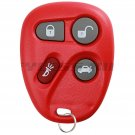 Red Replacement Keyless Entry Remote Key Fob Clicker for 25665574 25665575