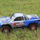 Traxxas Truck Car Blue Body 1/10 Fits on all Slash Slayer Shell Cover Baja 6811