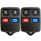 2 New Replacement Keyless Entry Remote Key Fob Clicker Transmitter Control Alarm