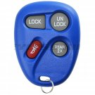 New Blue Replacement Keyless Entry Remote Key Fob Control Clicker for 15043458