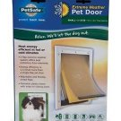 Pet Safe Extreme Weather Pet Door Small Size White