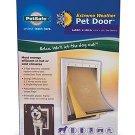 Pet Safe Extreme Weather Pet Door Large Size White