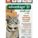 Advantage II for Small Cats 2 pack 2 Doses