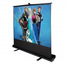 "Goplus Floor Projector Projection Screen 80"" 4:3 Foldable Pull Up Aluminium Case"