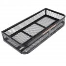 Universal Front Atv Hd Steel Cargo Basket Rack Luggage Carrier