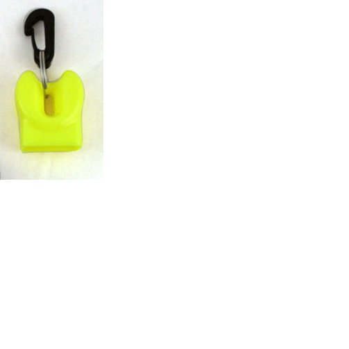 Scuba Dive Regulator Octopus Octo Holder Retainer Mouthpiece Cover with Clip Yellow