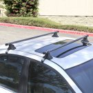 "48"" Telescopic Car Top Roof Cross Bars Crossbars Luggage Cargo Rack"