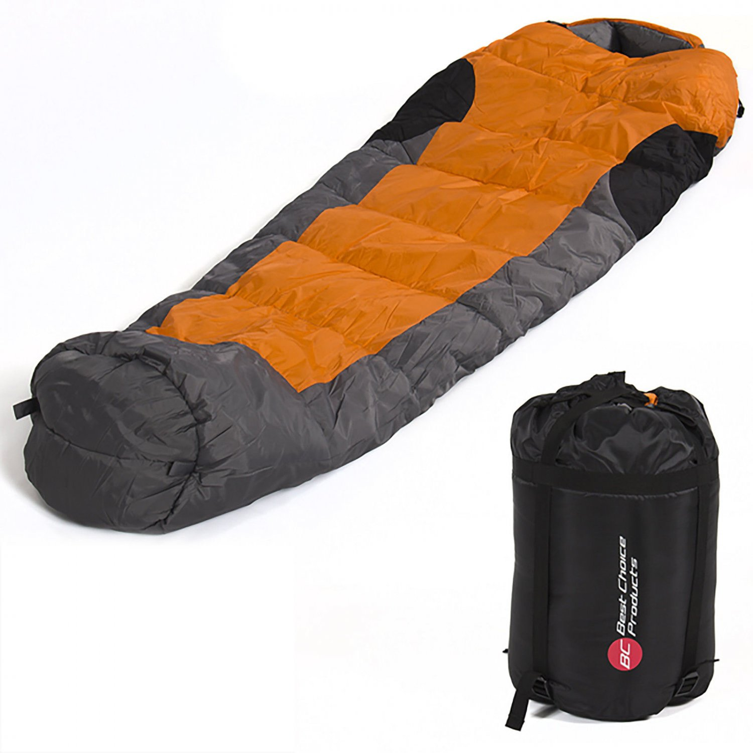 Brand New Mummy Sleeping Bag 5F/-15C Camping Hiking With Carrying Case