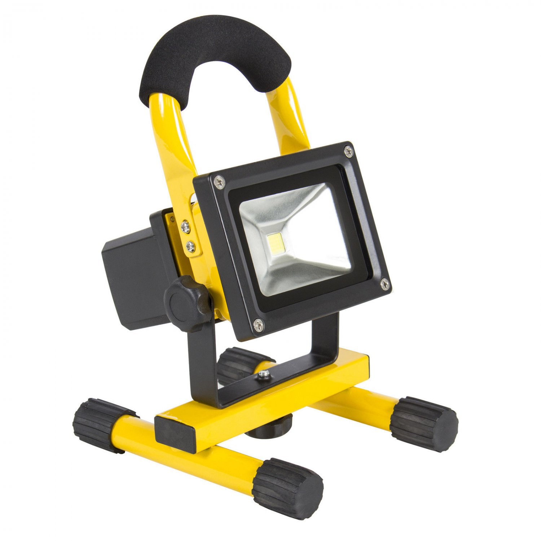 10w rechargeable led work light portable cordless flood spot hiking. Black Bedroom Furniture Sets. Home Design Ideas