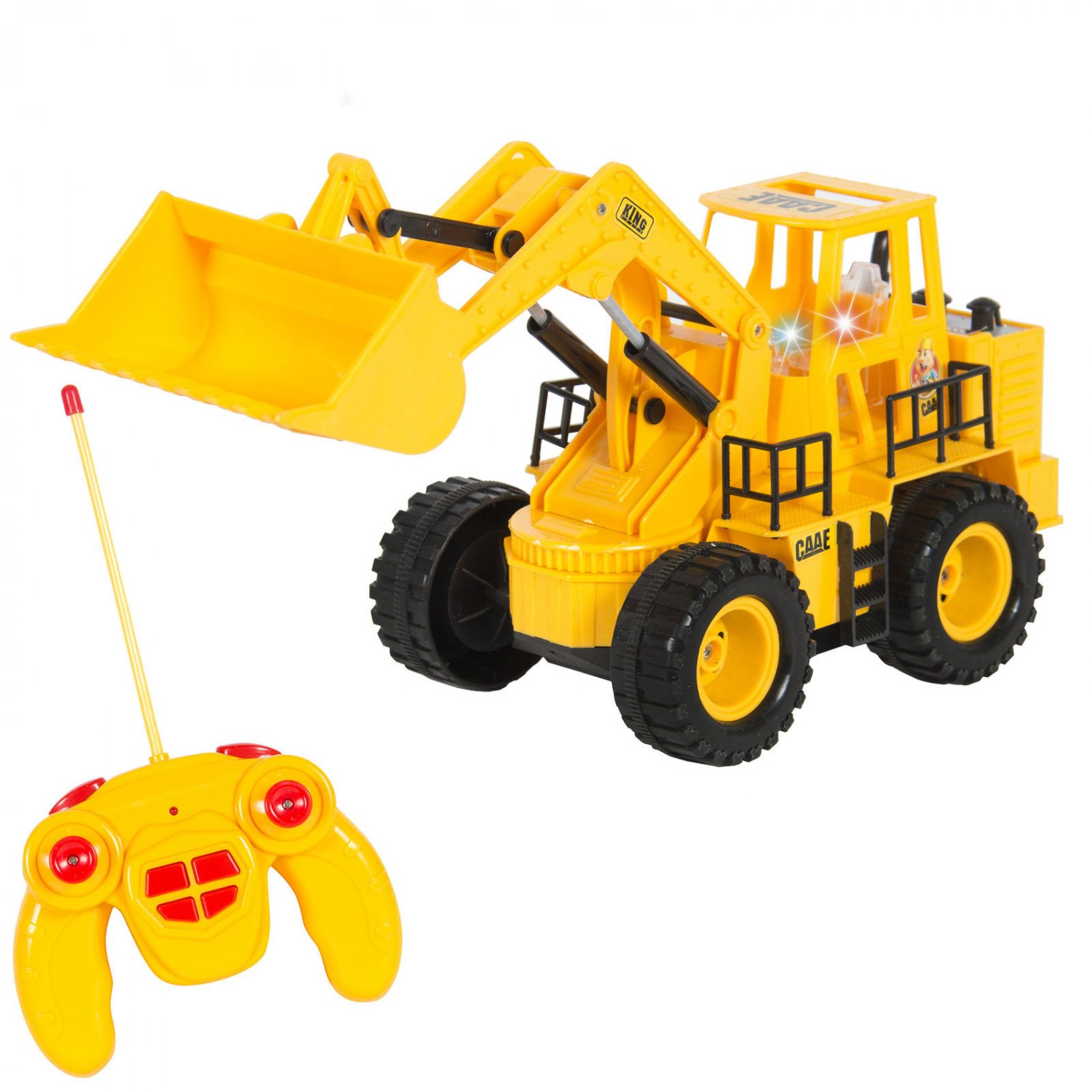 Remote Control Construction Toys : Rc remote control construction tractor with lights