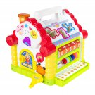 Kids Activity Toy Learning Cottage, Music, Lights, Games, Animal Shape Cubes