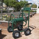 New Water Hose Reel Cart 300 FT Outdoor Garden Heavy Duty Yard Water Planting
