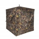 2-3 Person Camouflage Hunting Blind Ground Deer Archery Outhouse Hunting Tent