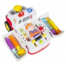 Educational Ambulance Rescue Vehicle Toy Bump'n'Go, Lights,Music, Medical Sounds