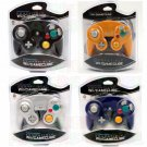 4x Brand New Controllers for Nintendo Gamecube Wii Black, Orang, Silver, Blue