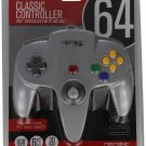 Retro-Bit Nintendo 64 Classic USB Enabled Controller Wired PC and MAC Grey