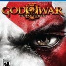New God of War III 3: Remastered Sony PlayStation 4 Factory Sealed