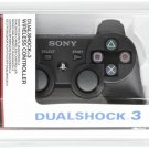 New Playstation 3 Dualshock 3 Wireless Controller DS3 Black Official