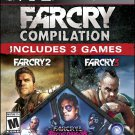 Far Cry Compilation (Sony Playstation 3, 2014) Brand New